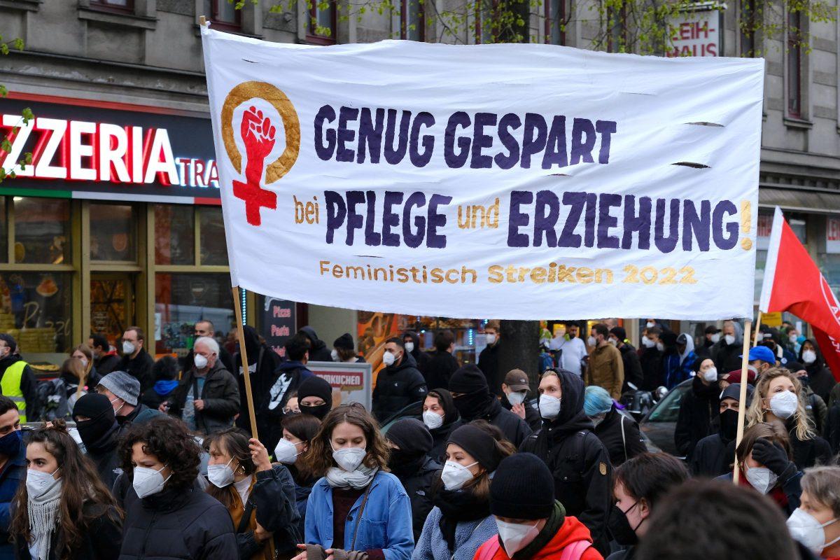 Pflege-Protest in der Krise
